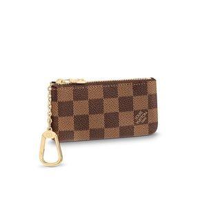 Authentic Louis Vuitton Key Pouch Damier Ebene